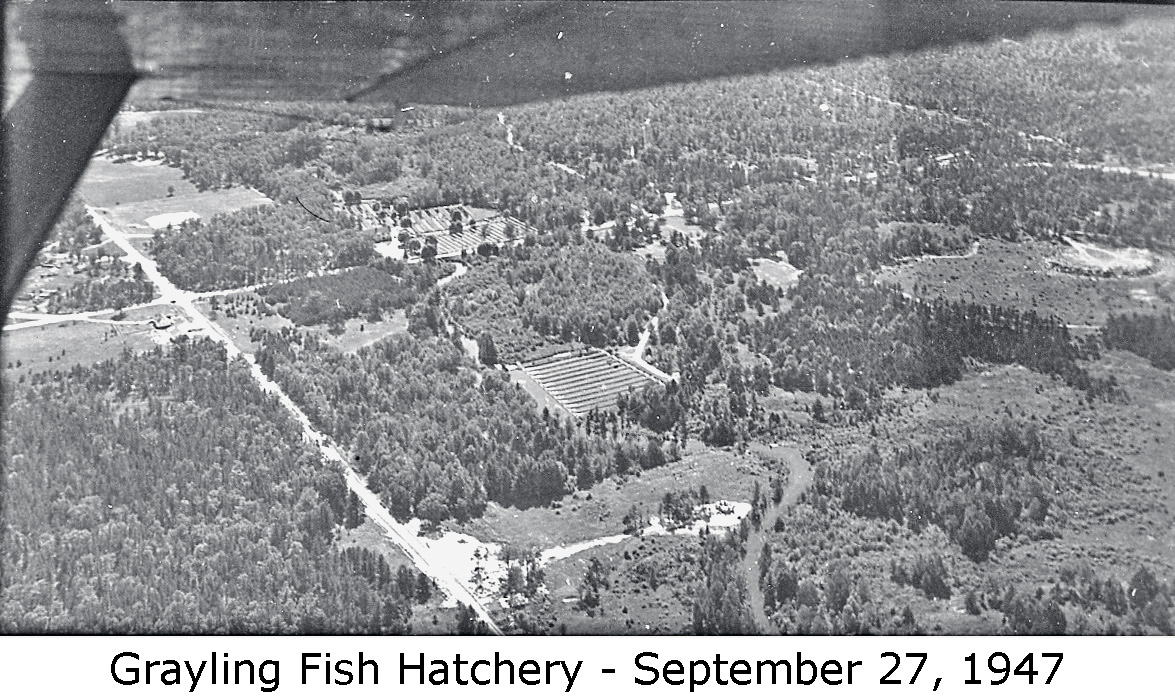 Crawford county historical museum grayling mi 49738 for Fish hatchery michigan
